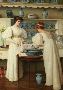 'Blue and 'White', 1896 (© Lady Lever Art Gallery/Art UK)