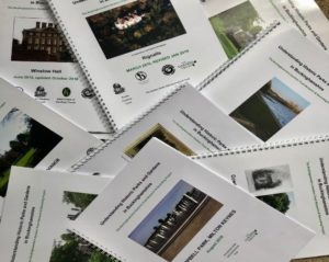 Existing research, such as that undertaken for the Bucks Gardens Trust Research and Recording project, is a useful source of information to support the new planning system (Rosemary Jury)