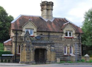 Local list coverage in Bucks to date has been limited, and mostly relates to buildings, such as The Lodge, at the Loudwater Station entrance to Rayners, High Wycombe – included on the Local List of Architectural and Historic Significance for Wycombe District (©Victoria Thomson)